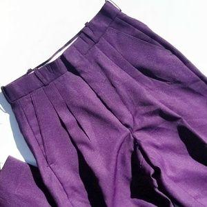 Vintage 70s Purple Pants